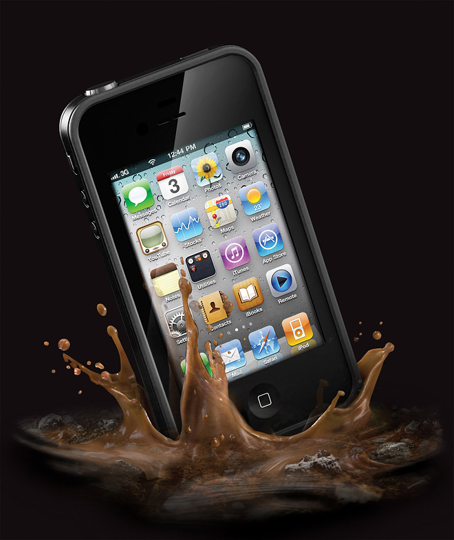 Lifeproof med iPhone 4