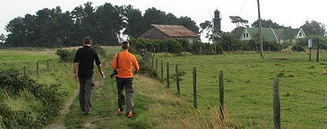 promenad på Utlängan