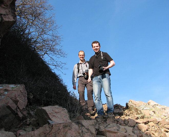 Fotonördar på Kullaberg