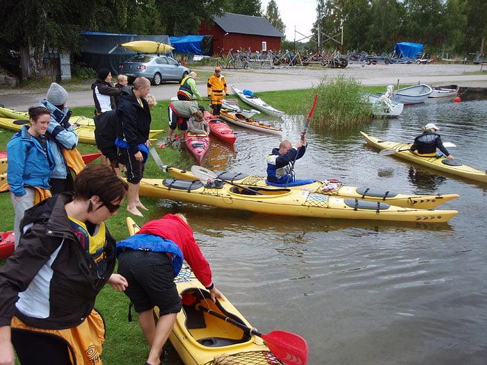 Sjösättning i Järnavik