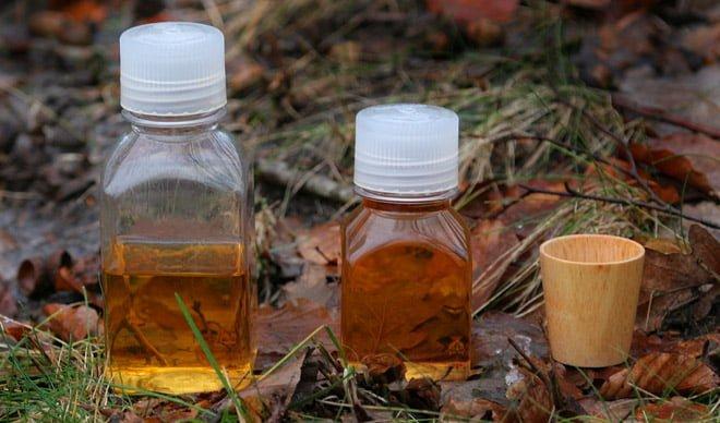 Små friluftsvänliga flaskor