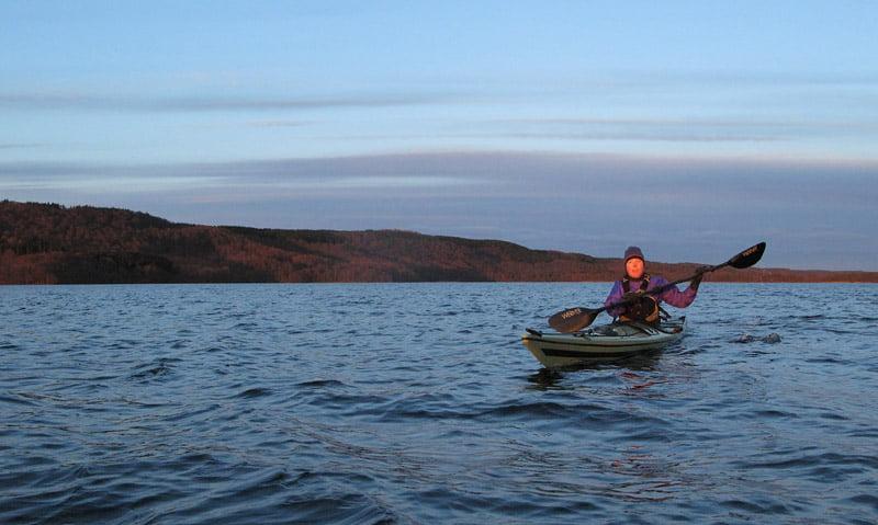 Pia på Västersjön
