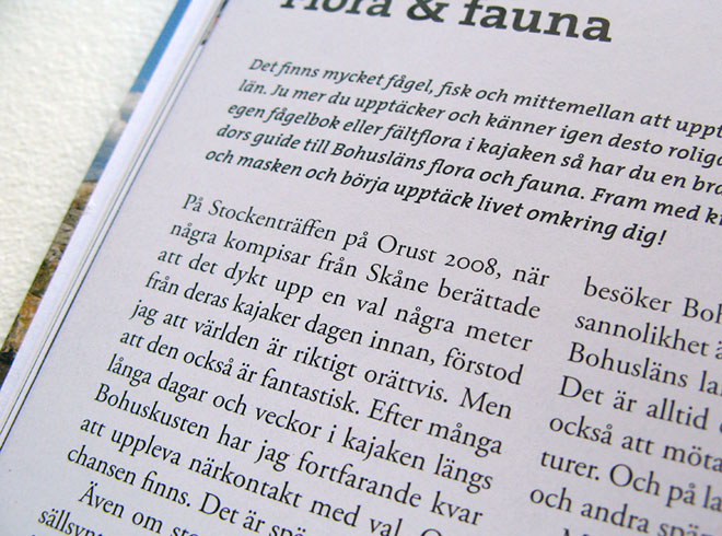 Stackars Jocke & Ulrika ;-) Ur boken Paddla kajak i Bohuslän