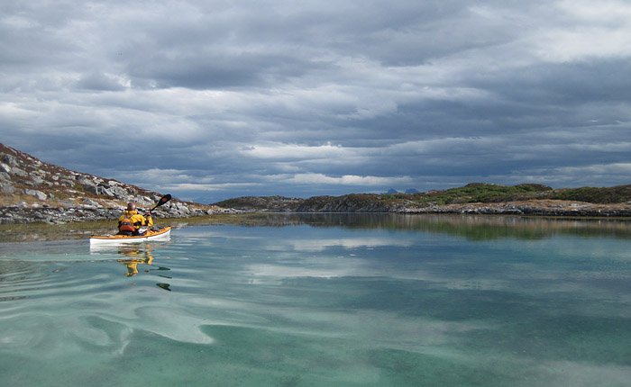 Fin morgon bland Åsværs alla öar