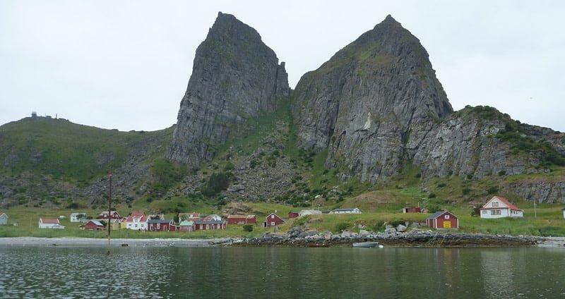 Byn på Sanna/Sanda
