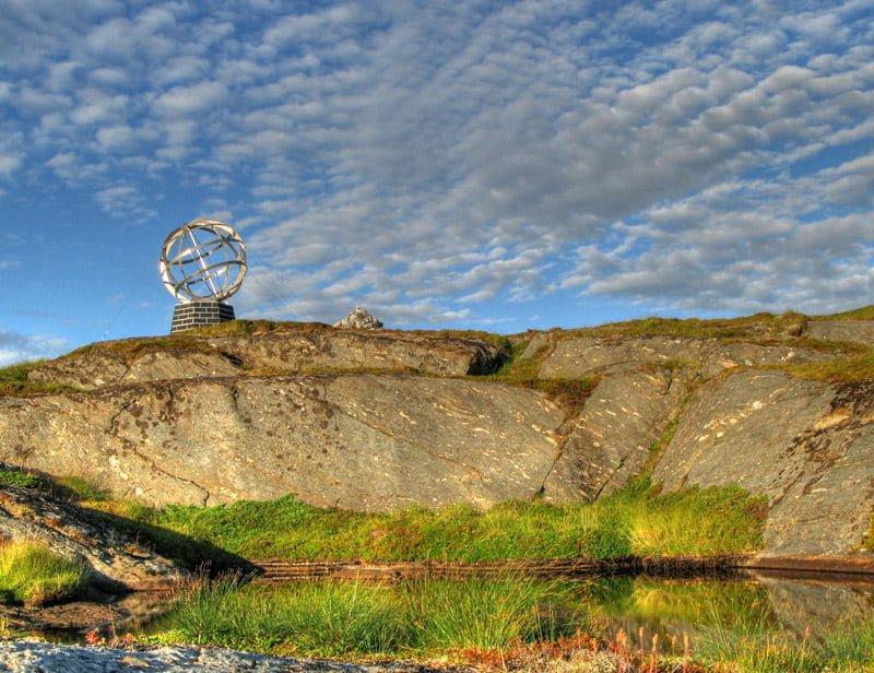 Polcirkelmärket på Vikingen