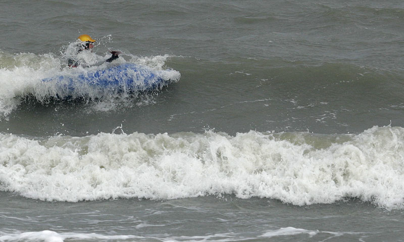 Jag surfar sidledes