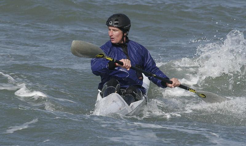 Ola från malmö i Epic surfski