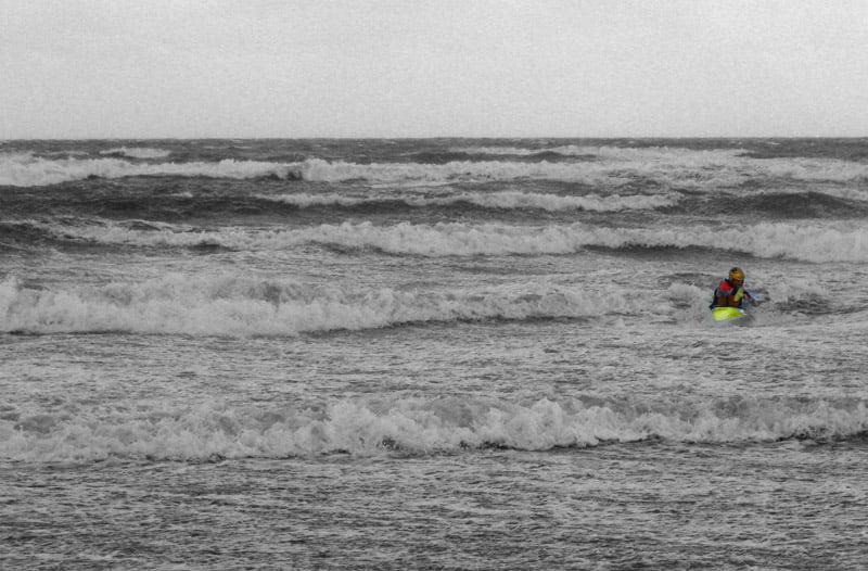 Leif blåser och/eller surfar inåt