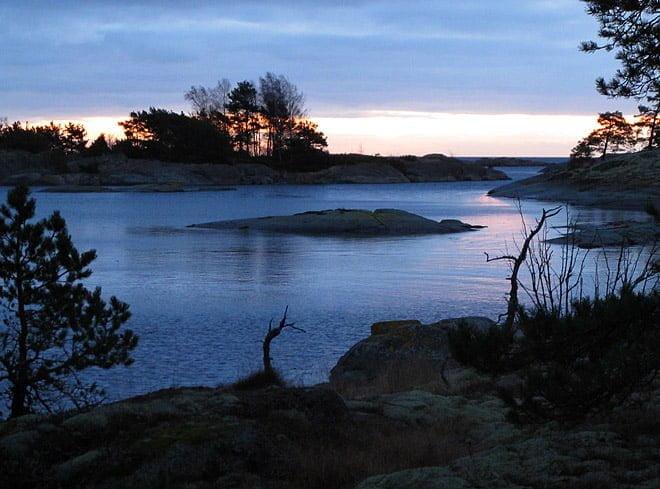 Morgonljus och lite horisontvy