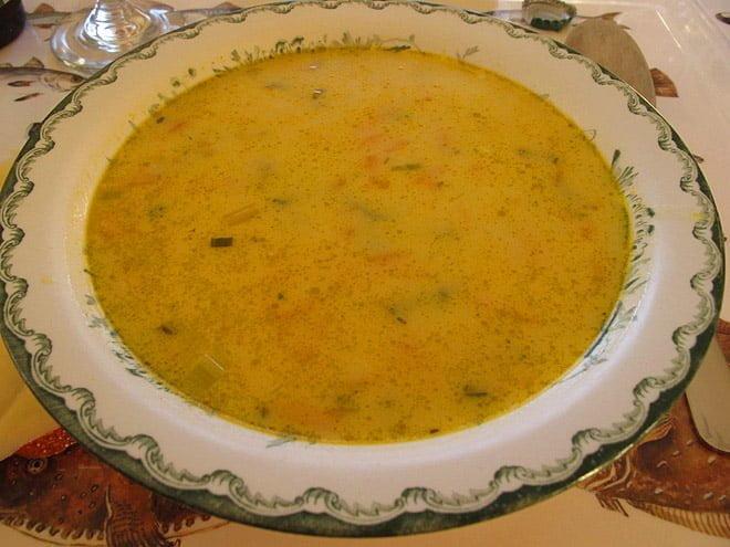 Fisksoppa till lunch - supergott