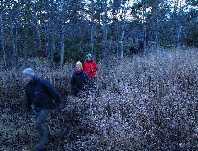 Öpromenad - i år fick vi med hela gänget runt både Örö och Lillö! det tar sig!