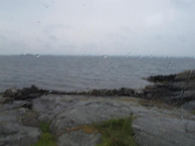 Regnig förmiddag