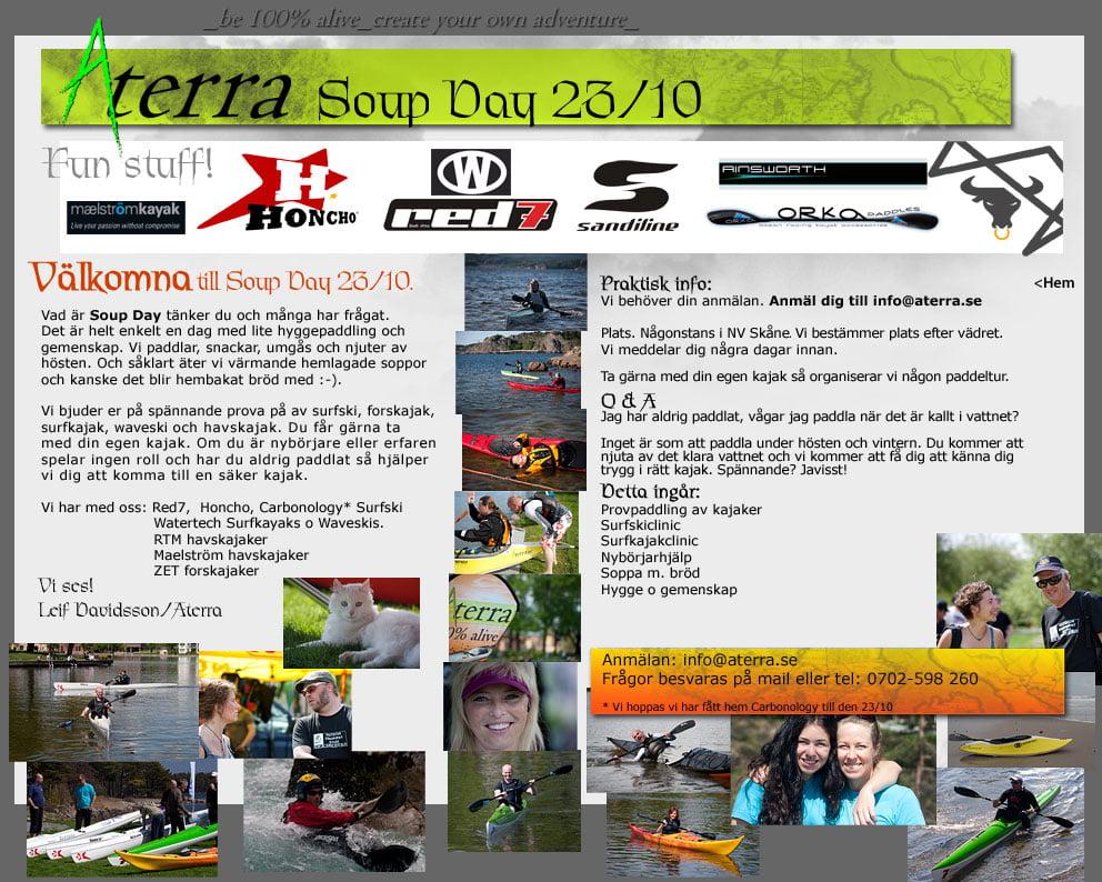 Aterra Soupday