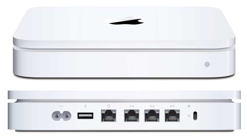 Apple Time Capsule - trådlös backup och router