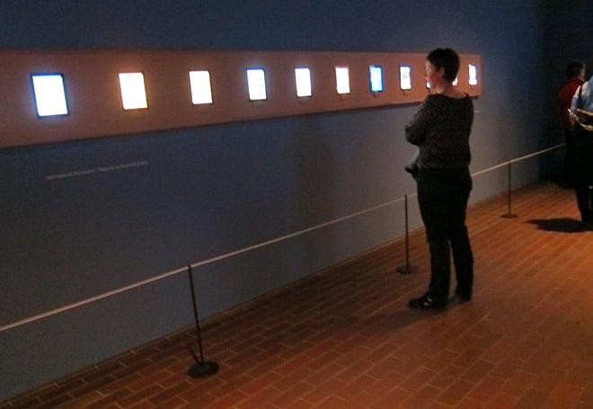 Del av David Hockneys iPad-utställning