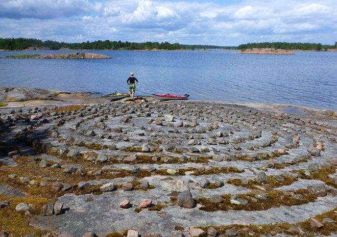 Labyrint på Tallskär