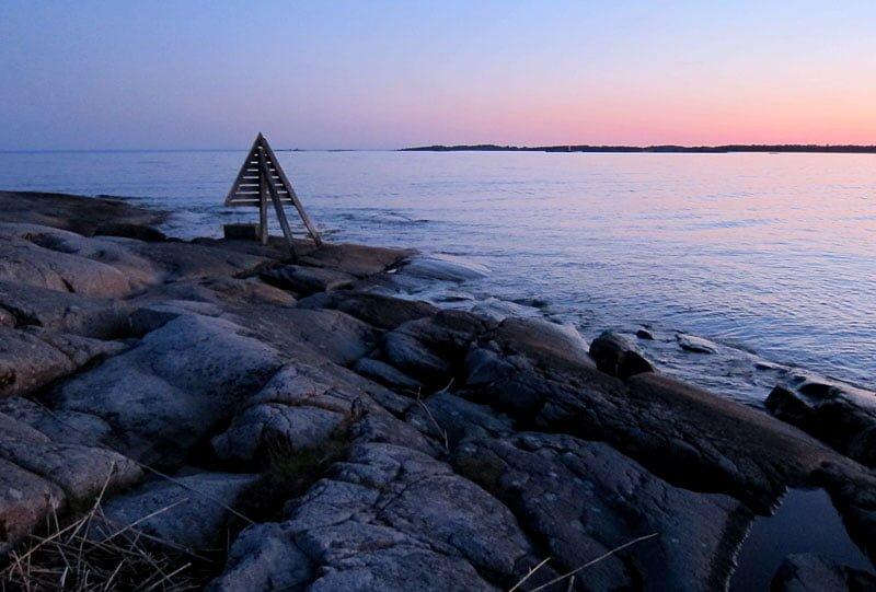 Vy från Ljungskär mot sydväst
