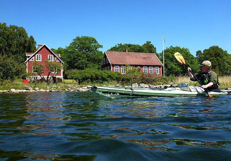 Pia i sundet mellan Hallö & Styrsö