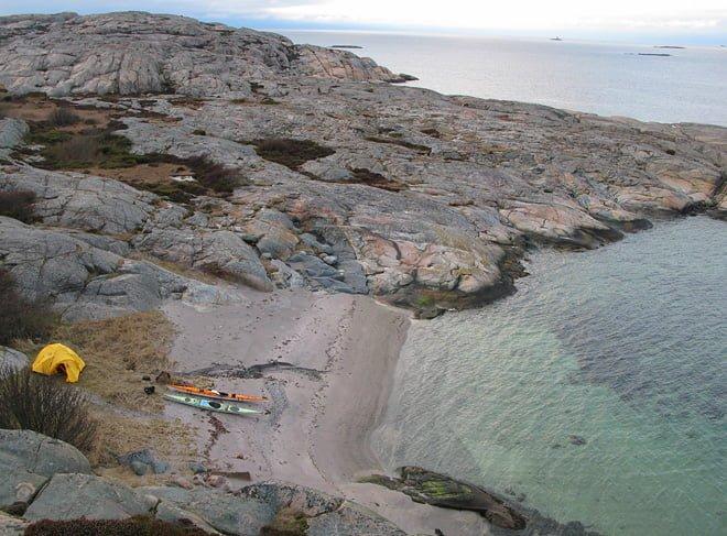 Vedholmen i Fjällbacka. VE25, Clapotis & Ellesmere