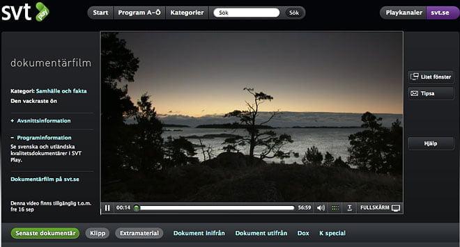Den vackraste ön på SVT play