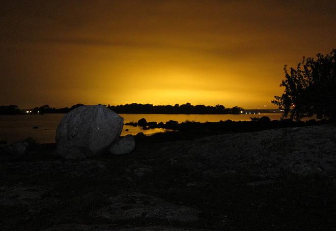 Kvällsljus från Bockö