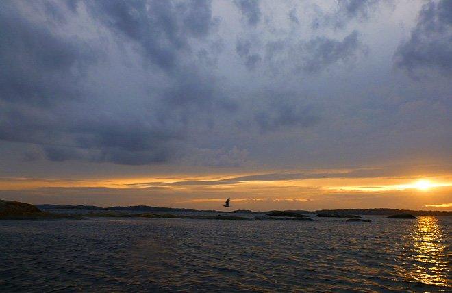 Fin himmel utanför Fiskebäck