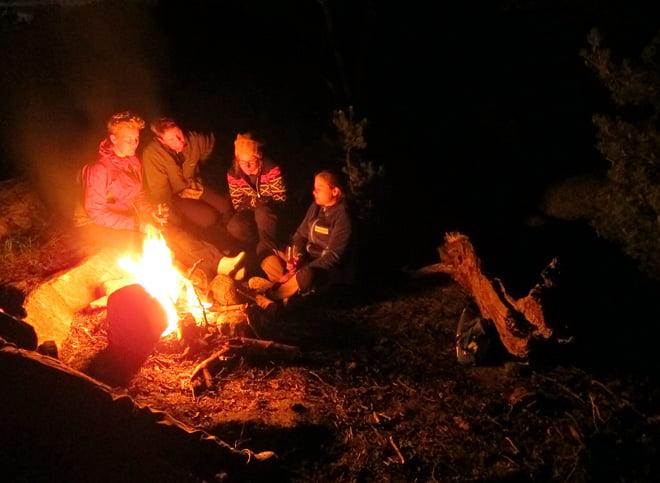 Mys vid elden