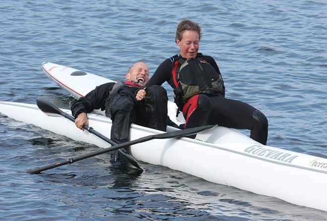 Surfksibyte kan ske på vattnet. Kanske inte plättlätt men ser skoj ut