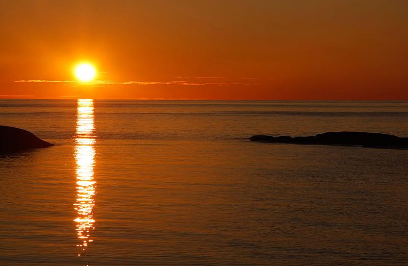 Solnedgång Slängerumpan