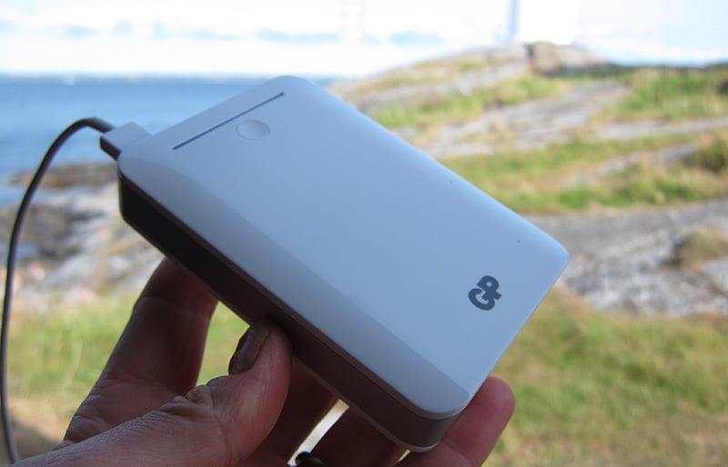 GP Portable Powerbank 10400 är kraftfull och rimligt stor