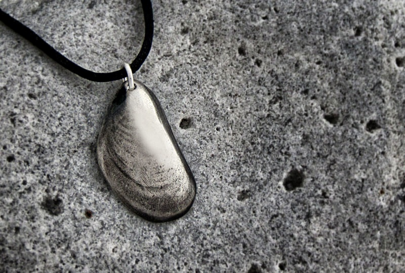 Mussla i silver