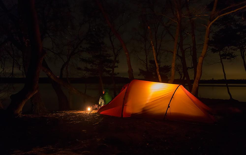 Kvällsmys vid Rössjön