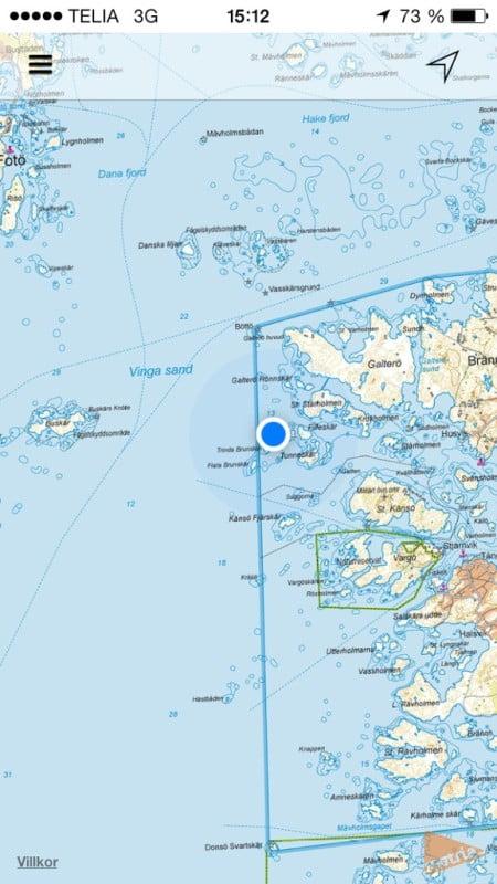 Nordvästra delen av Göteborgs södra