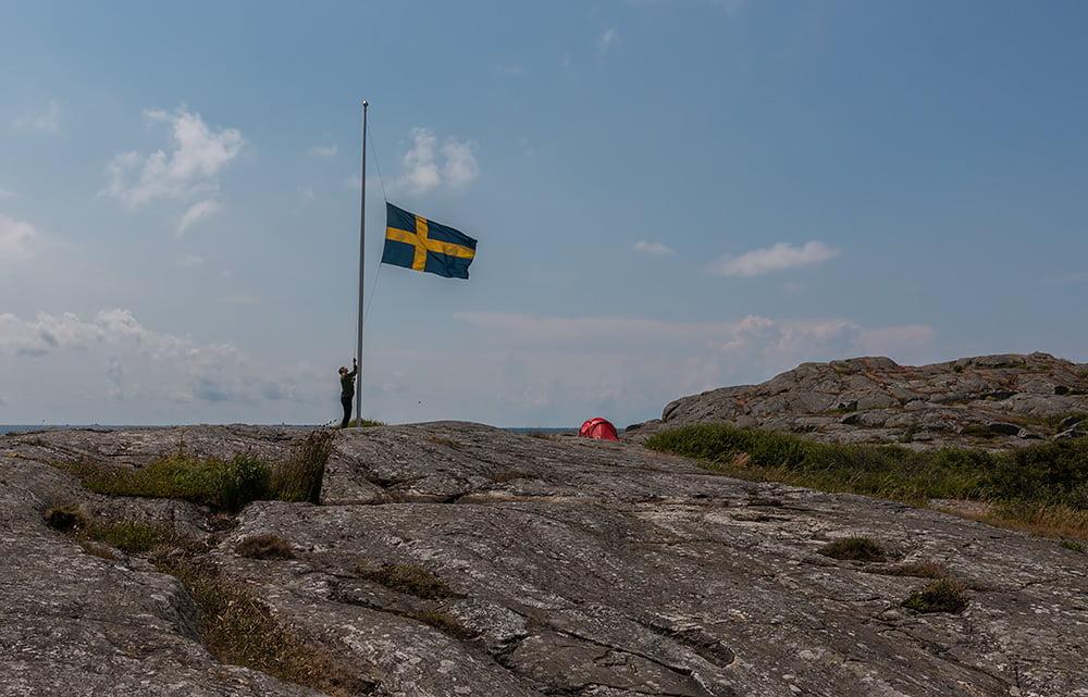Flagghissning