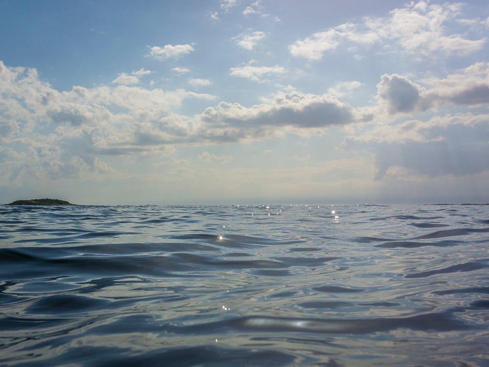 Somrigt på vattnet