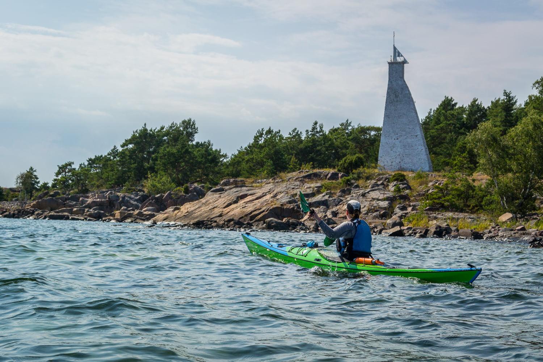 Stort sjömärke vid Kråkelund