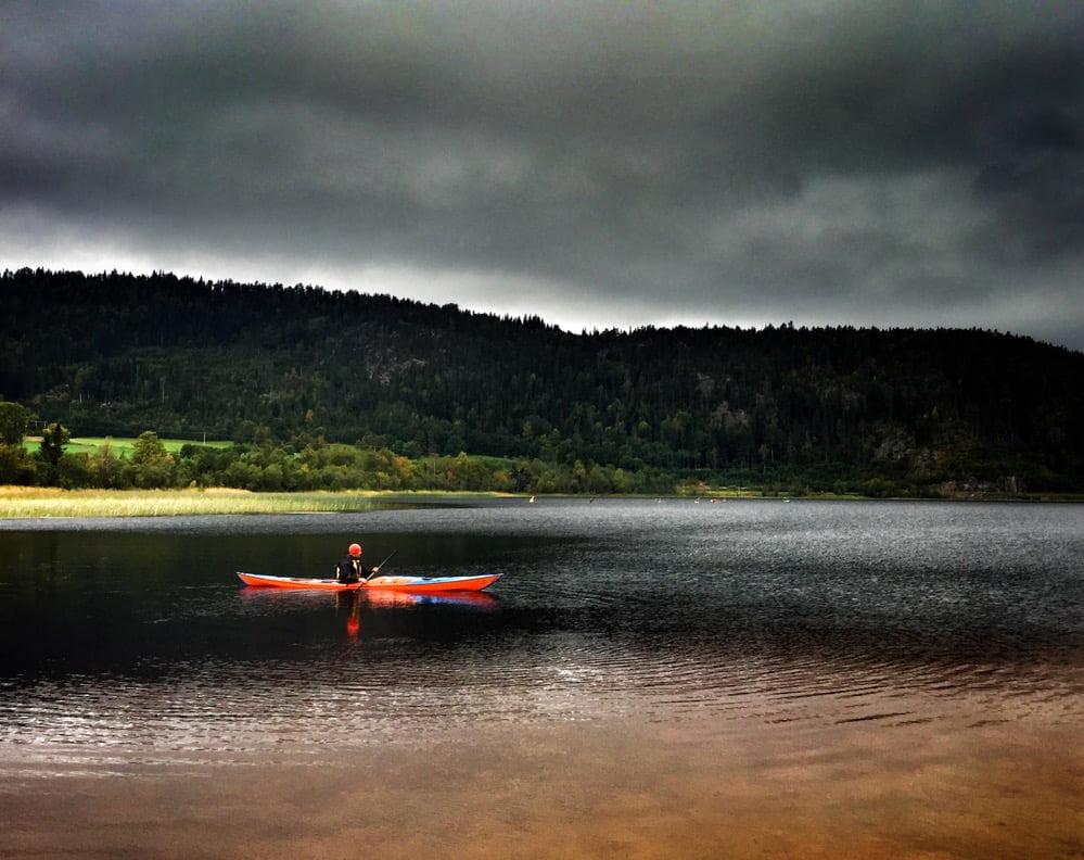 Magnus testar Play på Gällstasjön, tycke uppstod, blir nog köp :)