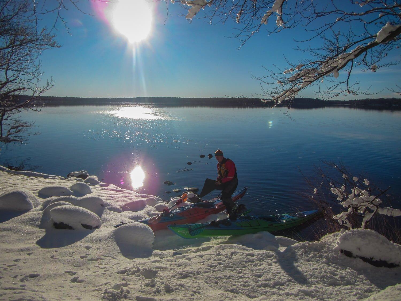 Sol, snö och vatten