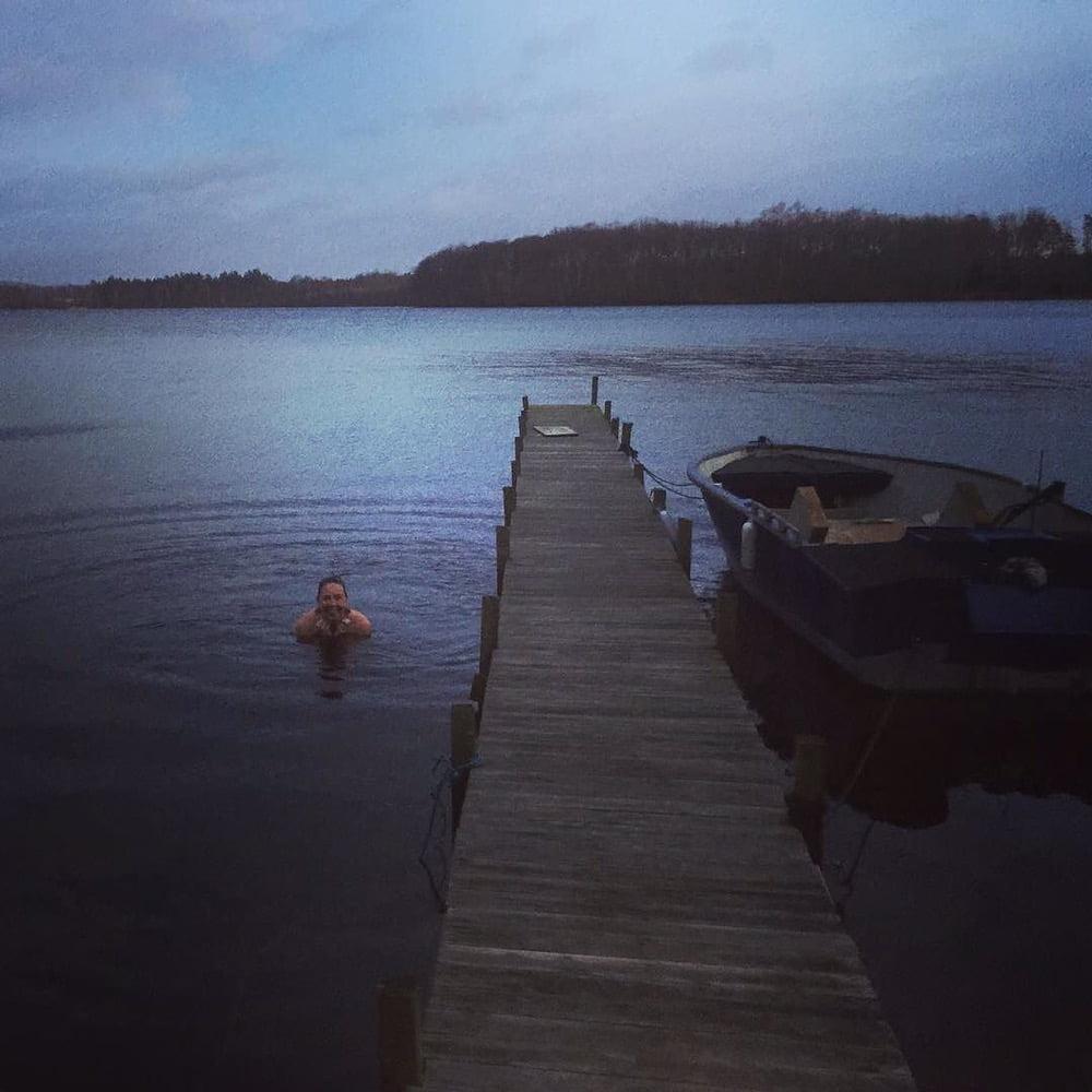 Högt vatten i Västersjön