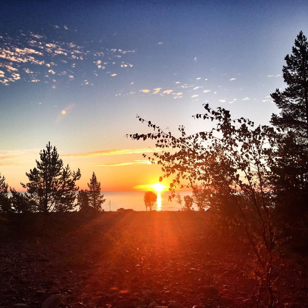 Soluppgång utan massa öar och land i vägen ;)