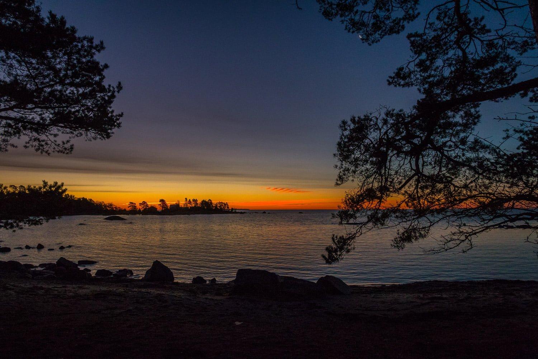 Grymma soluppgångar