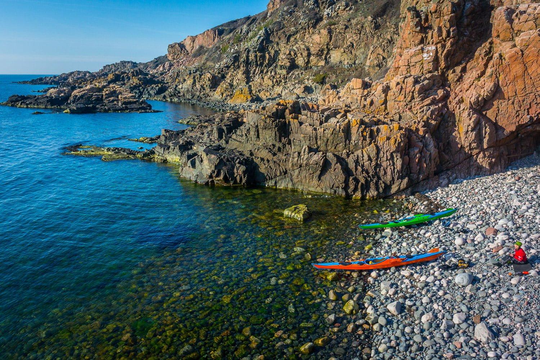 Stenstugorna på Kullaberg - fint vatten, go strand och go fika