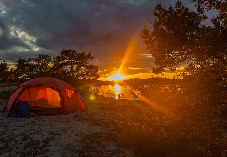 Grymma solnedgångar