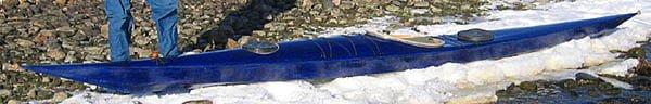 """Olles """"lilla blå"""". 49cm bred och mycket låg"""