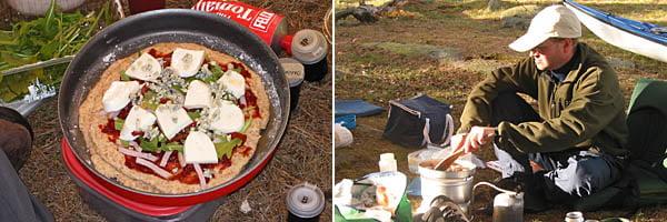 Pia gjorde Pizza på lördagen med bl.a. kalkon, mozarella, ruccola osv... mycket gott | Henkan lagar mat