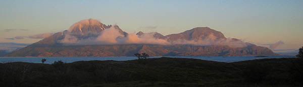 Tomma sett från Onøya i kvällsljuset, kooola moln!