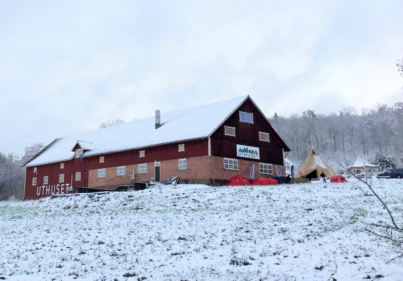 Uthuset - en lada med friluftsprylar i metropolen Skärstad